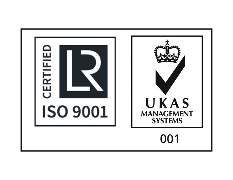 iso9001 and ukas enlarge